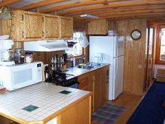 Heart & Sol houseboat full galley