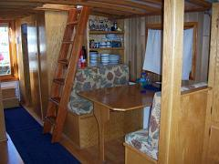 Heart & Sol house boat convertible table/double bed